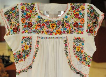 Mexican Embroidered Dress and Peasant Blouse